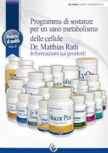 Informazioni sui prodotti del dr. Matthias Rath